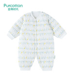 全棉时代 长颈鹿婴儿针织厚款长袖连体衣1件装