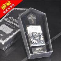 原装正版ZIPPO防风煤油打火机96年芝宝贴章限量版吸血鬼古墓惊魂