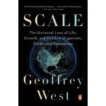 【中商原版】规模:复杂世界的简单法则 英文原版 Scale 杰弗里・韦斯特Geoffrey West