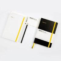 遇见点阵本学生日记本厚简约点格记事本A5创意办公笔记本子