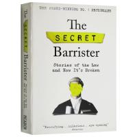 The Secret Barrister 秘密律师 法律的故事与其规则变化 英文原版 英文版原版书籍 进口英语书正版
