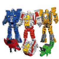 钢铁飞龙之奥特曼崛起酷炫3变系列机械手表 机器人恐龙手表互变 儿童玩具学生礼物3岁以上