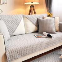 【人气】四季纯棉沙发垫北欧沙发垫现代防滑全棉布艺沙发坐垫子防尘全盖