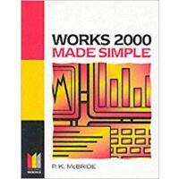 【预订】Works 2000 Made Simple 9780750649858