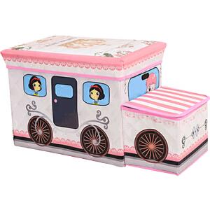 凳子 多功能卡通收纳凳收纳盒收纳柜收纳架玩具收纳箱折叠储物凳子柜子椅子儿童沙发儿童玩具礼品生日礼物换