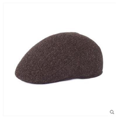 新款男士帽子户外运动鸭舌帽 男中老年保暖前进帽大号定做 质量保证  售后无忧 货到付款