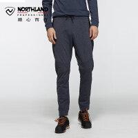 【NU】诺诗兰2018新款秋冬户外男式防风保暖弹力长裤KW065801