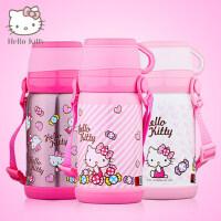 hello kitty不锈钢儿童保温杯 女小学生带盖大肚水杯可爱茶杯子瓶