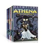 英文原版 Olympians 奥林匹斯主神系列10册古希腊神话彩图漫画书:Athena/Hades/Hera/Pose