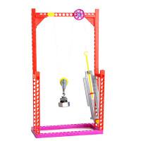 儿童礼品科学实验教具益智玩具 小学生科技小制作物理实验滑轮测力器