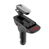 车载蓝牙耳机多功能MP3播放器点烟器双USB一键接听开车专用车用手机通用车载免提可接听电话 ER9 ---【车载蓝牙】