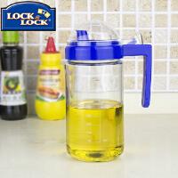 【当当自营】LOCK&LOCK/乐扣乐扣 厨房透明耐热玻璃油壶 调味瓶(600ml) LOP600