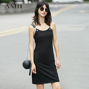 【品牌团 1件7折/2件5折】Amii11761806  连衣裙