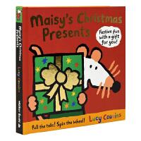 【首页抢券300-100】Maisy's Christmas Presents maisy小鼠波波英文绘本 圣诞节礼物
