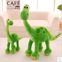 恐龙当家毛绒玩具公仔女生娃娃儿童生日新年礼物 查