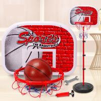 儿童篮球架可升降室内投篮框家用宝宝皮球男孩5球类玩具2-3周岁10