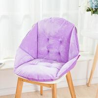20191101204421717椅垫坐垫靠垫一体办公室护腰靠背板凳电脑餐椅子藤椅学生连体垫子
