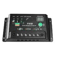 太阳能控制器12v24v10a 路灯系统控制器 光伏发电系统充电器 数码