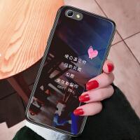 iphone6plus手机壳苹果6splus套a1593玻璃萍果6sp情侣iPnone创意爱疯六个性