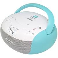 新品熊�CD-306�{牙CD�C播放�C�W生用�l��家用�妥x�C英�Z音�便�y�_式一�w�C光碟�C收音�C插卡光�P播放器 �{色