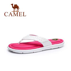 Camel/骆驼 女鞋 夏季新品 休闲拖鞋女 简约耐磨防滑凉拖鞋