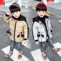 男童棉衣儿童秋装宝宝秋冬外套外出服可爱冬季潮
