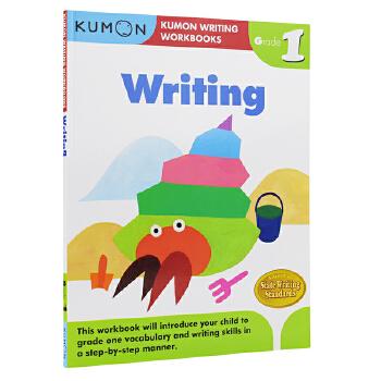 Kumon Writing Workbooks Writing Grade 1 公文式教育 小学一年级写作教辅 6-7岁 儿童英文原版图书进口