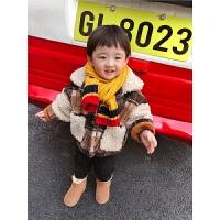 小童冬装男宝宝儿童外套羊羔毛上衣