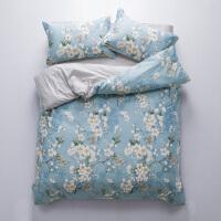 纯棉四件套全棉床单被套学生宿舍被罩三件套床上用品家用双人1.5米/1.8m床品套件