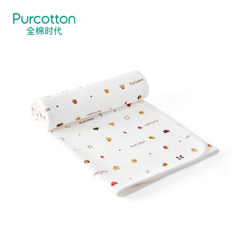 全棉时代 婴儿针织复合隔尿垫  1条装