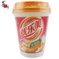 喜之郎 优乐美 奶茶(草莓味) 80g 杯装 速溶冲饮品 固体奶茶饮料