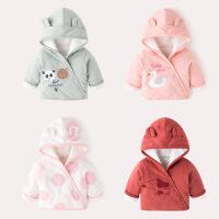 宝宝外套女童冬装上衣小童婴儿棉衣