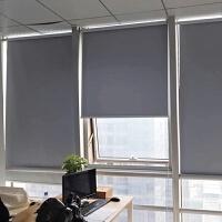 卷帘 窗帘遮光现代简约涂层办公室客厅厨房卫生间定做拉珠