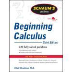 英文原版 微积分入门大纲,第三版 Schaum's Outline of Beginning Calculus