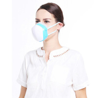 新风送风防雾霾呼吸阀口罩PM2.5 透气男女成人儿童防粉尘电动智能口罩