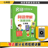 【正版二手书9成新左右】阅读理解深度训练 七年级 王静 电子工业出版社