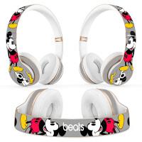 Beats solo3耳机贴纸studio3魔音EP pro录音师耳机贴纸solo2贴膜