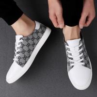 夏季流行男鞋韩版时尚百搭休闲鞋男士真皮皮鞋板鞋运动鞋低帮潮鞋