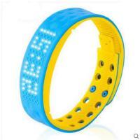 舒适经久耐用LED电子表防水学生智能手表计步卡个性签名运动手环