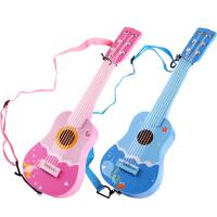 木质儿童小吉他玩具六弦尤克里里初学者仿真可弹奏男女孩宝宝乐器