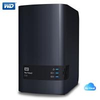 WD西部数据 My Cloud EX2 Ultra西数云NAS网络存储 3.5英寸0T/4T/8T/12T/16T可选