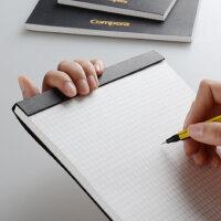 齐心A4拍纸本方格笔记本子B5手账本网格本创意横格本格子本空白本记事文具大大学生用简约设计A5绘图本批发