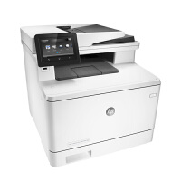 惠普HP M477fdw A4彩色激光多功能一体机 打印复印扫描传真 自动双面/支持网络 无线wifi网络打印机