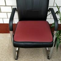 防滑椅子垫老板办公室电脑椅垫理发店沙发座垫防水皮革坐垫汽车垫