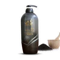 安安国际黑芝麻滋养顺滑洗发露700g 乌发固发柔顺止痒去屑洗发水
