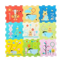 迪士尼Disney 拼接爬行垫防滑学爬垫宝宝卡通拼接垫9片装