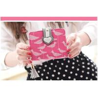 新款女士钱包短款韩版可爱女款手拿包两折叠学生拉链零钱包潮