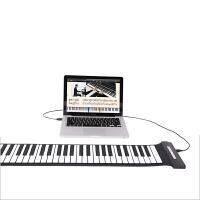 手卷钢琴 49键成人入门硅胶电子琴 加厚琴键 USB直连易学琴