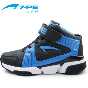七波辉男童鞋 春秋季儿童篮球鞋户外运动鞋青少年中大童鞋男童鞋