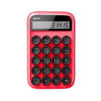 洛斐 EH113P 圆点糖豆计算器(可爱迷你 糖果色计算机)学生计算器办公计算器红色